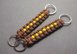 Handmade Tactical Lanyard 550 ParaCord key Chain Survival ED