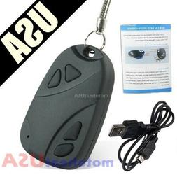 Hidden Spy Cam Camera Mini Key Chain Car Nanny DV DVR Video