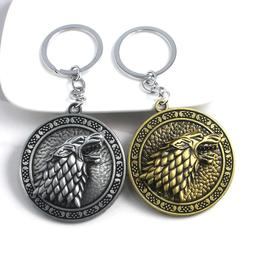 Hot Hit TV Game Of Thrones Stark Family Keychain Motorcycles