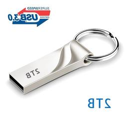 Sale 3.0 Flash Drives Metal Keychain 1TB 2TB Memory USB Stic