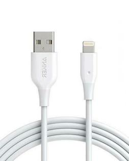 iPhone Charger, Anker Powerline 6ft Lightning Cable, MFi Cer