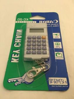 Canon Key Chain Calculator KC-20 Still Sealed