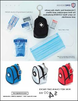 key chain day packs for personal protection