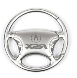 Keychain & Keyring with Acura RSX Logo - Steering Wheel