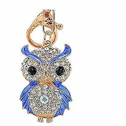 Aibearty Keyrings & Keychains Fashionable Creative Diamond C