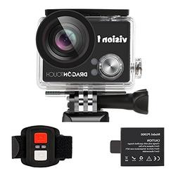 Dragon Touch Kids Action Camera 1080P Waterproof Camcorder V