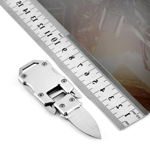 Key Folding Pocket Knife Outdoor Survival Stainless