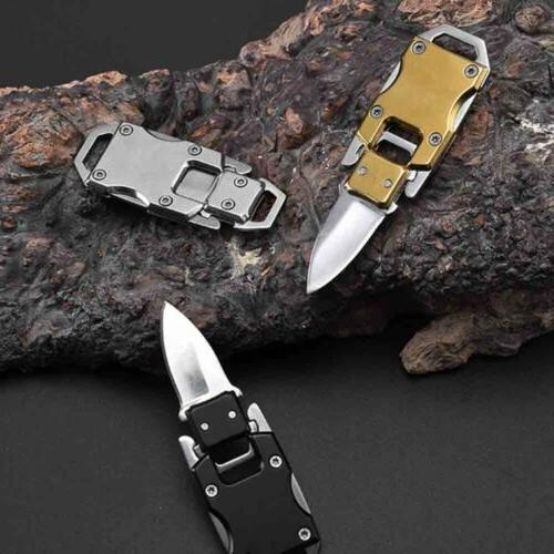 Key Chain Folding Knife Outdoor Survival