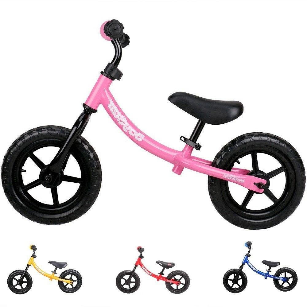 "JOYSTAR 12"" Kids Balance Bike Bicycle for 2-5 Years Old Four"