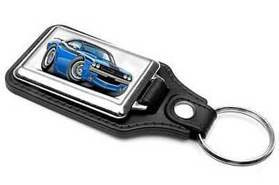 1971 Dodge Challenger RT Muscle Car-toon Key Chain Ring Fob