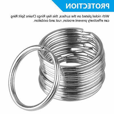 200Pcs Rings Chains Split Ring Loop 25mm LoT
