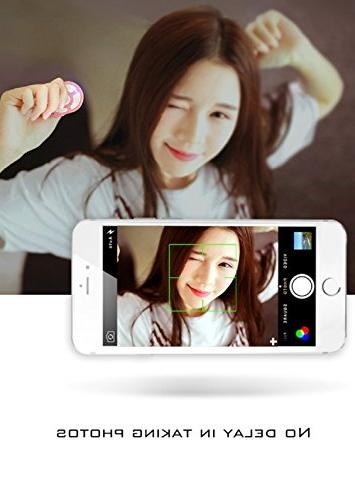 RockFoxOutlet 5-In-1 Universal Selfie Shutter Self-Timer Remote Controller, Zoomable Focus Selfie Shutter Kit iOS Android