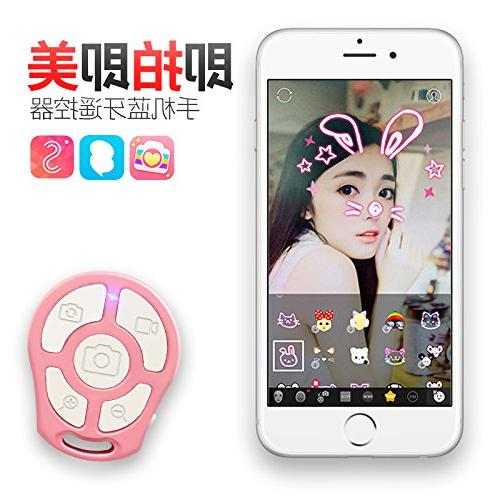 RockFoxOutlet 5-In-1 Universal Selfie Remote Shutter Self-Timer Remote Zoomable Selfie iOS Android Cellphone.