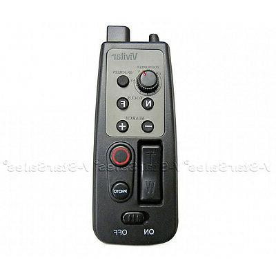 Vivitar 8 Button Remote Zoom Control for Camcorder w/ LANC o