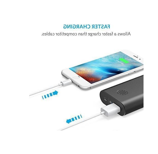 Anker Fast iPhone XS X 8 7 6 5 3ft + New