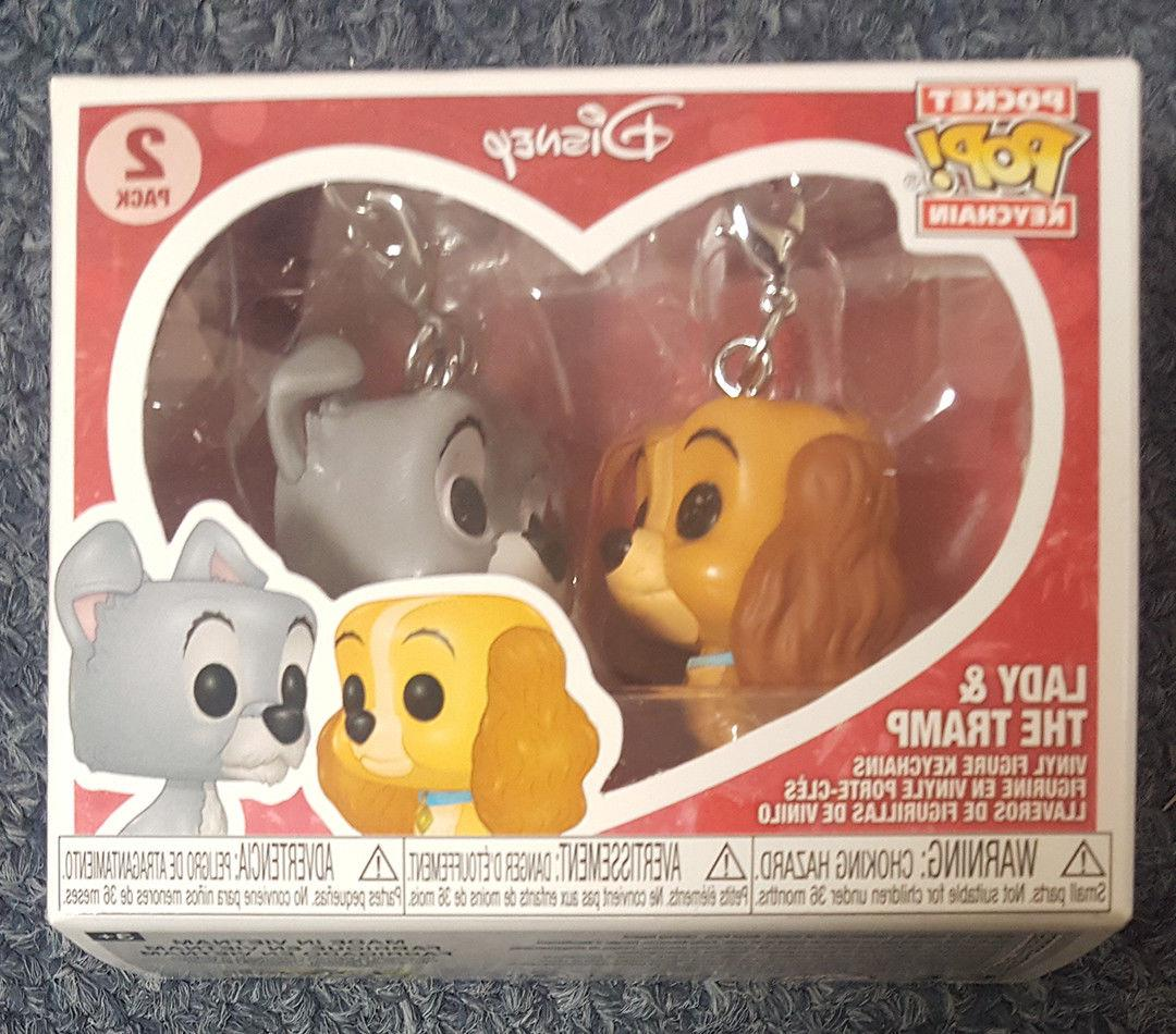 Funko Pop Keychain Lady and the Tramp Disney Treasures Exclu