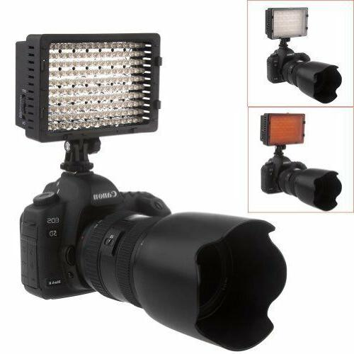 NEEWER LED Dimmable Ultra High Power Panel Digital Camcorder Video LED Light for Nikon, Pentax, Olympus