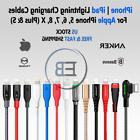 Lightning Cable USB Anker Charger 3/6/10 FT For iPhone 5 6s