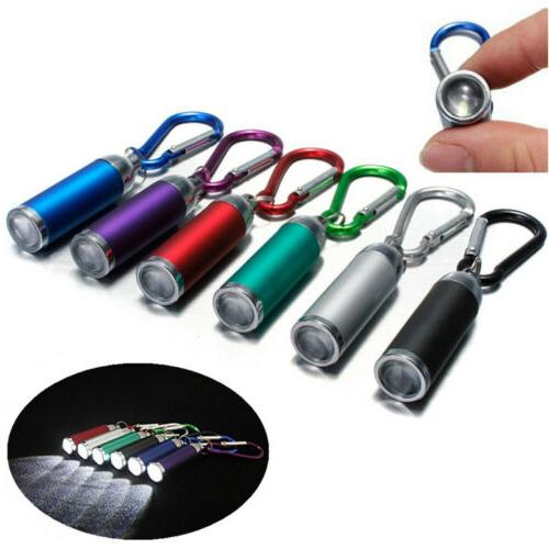 Aluminum Mini Portable Flashlight Torch Camping Keychain