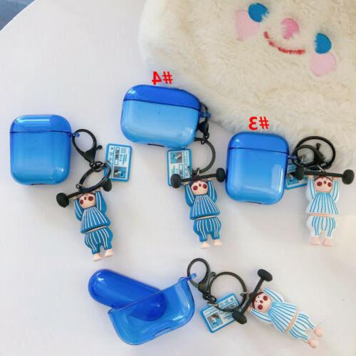 For AirPods Pro 3D Fitness Boy Earphone Cover