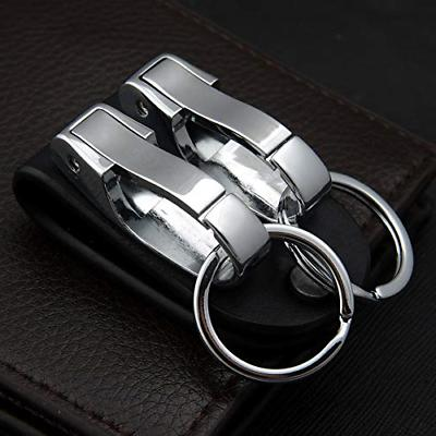 BEST Leather Key chain Detachable Holder