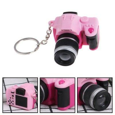 Cameras Sound Glowing Pendant Doll Car Key Chains Toys Light