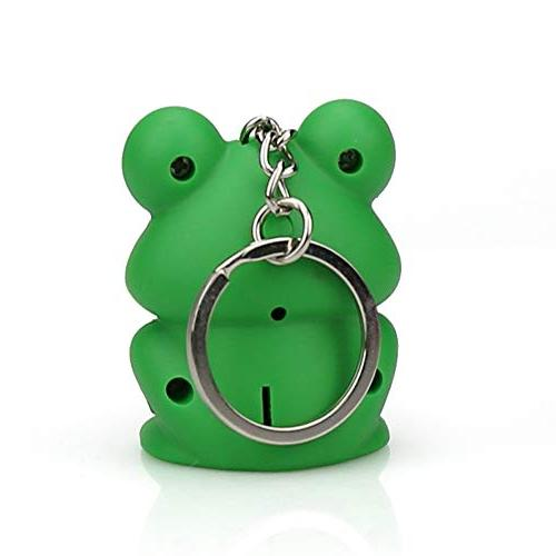 Hisoul Cartoon Keychain - LED and Realistic Funky Toy Toddlers Babies
