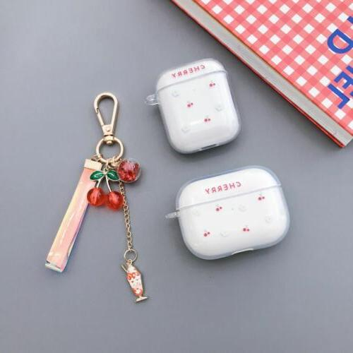 Clear Fruit Hard For AirPods Pro AirPods 3 Protective Cover Skin