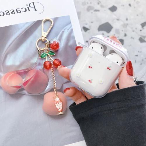 Clear Fruit Hard Case For Apple AirPods Pro AirPods 3 1 Protective Skin