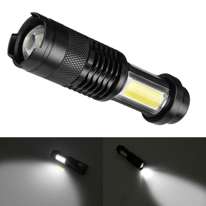COB LED Flashlight Tactical Camping