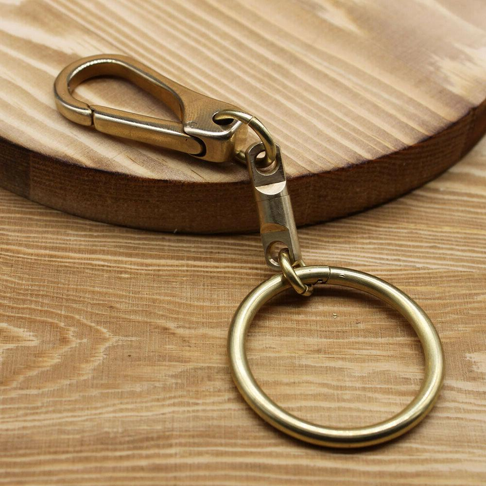 Collectable Brass Keychains Keyring Key Chain Holder For Man