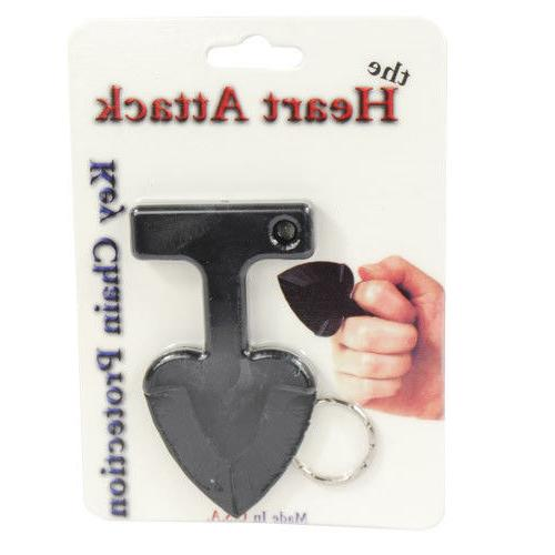 College Defense Personal Protection Heart Key Chain In The USA