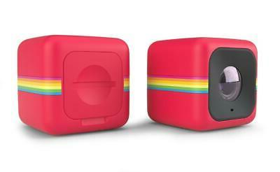cube lifestyle action camera red new