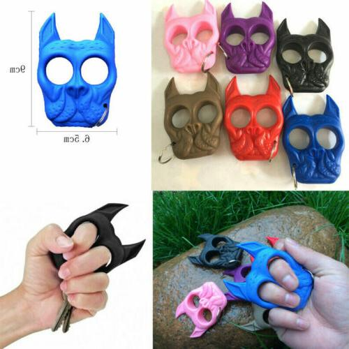 Cute Mini Chain Plastic Dog-Self-Defense Tools Portable