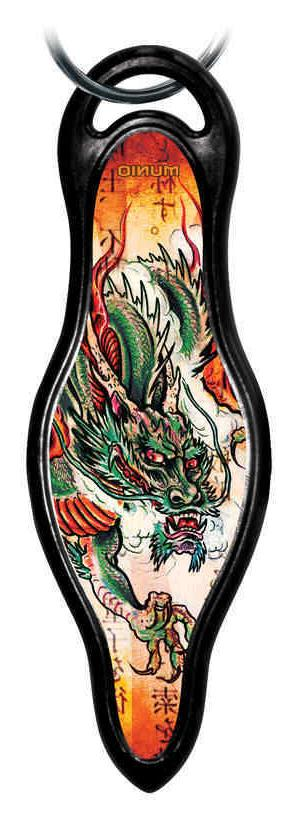 "MUNIO Designer Self Defense Keychain ""Dragon Legend"""