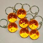 Dragon Ball Z DBZ Cosplay Crystal Ball 7 Stars Keychain Keyr