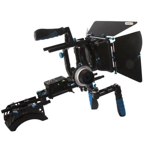 3519d94dc NEEWER® DSLR Shoulder Mount Support Rig with Camera/Camcorder