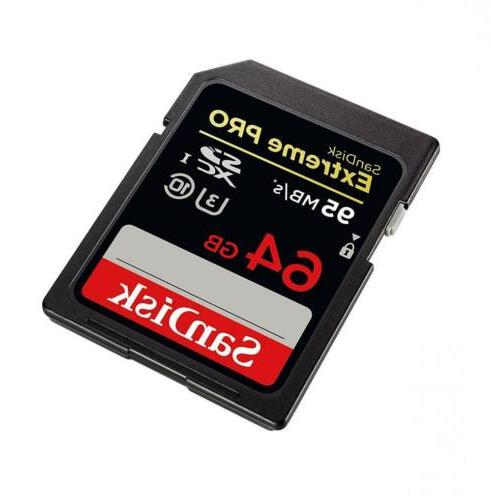 SanDisk Extreme up to SDXC Card -...
