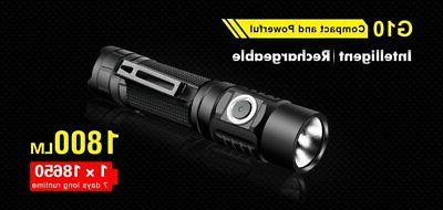 Klarus G20 3000 Lumens Rechargeable LED Flashlight w/ Batter
