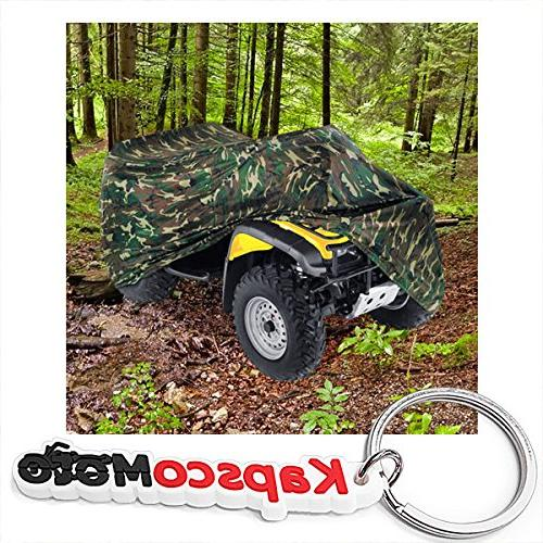 heavy duty waterproof atv cover fits up