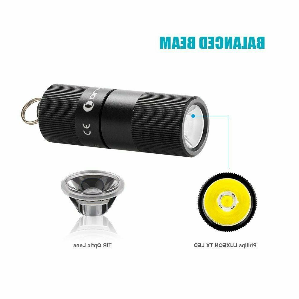 OLIGHT EOS Lumens 2 USB Rechargeable Keychains Flashlight