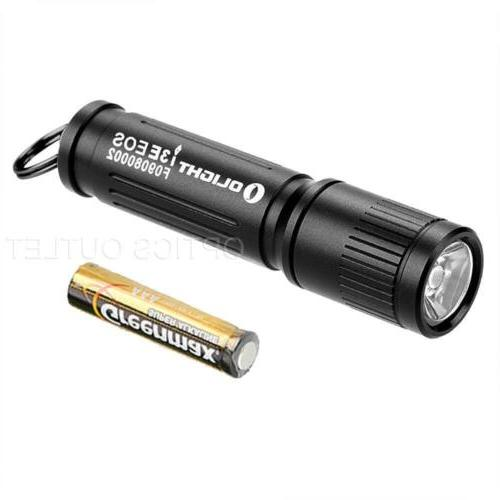 Olight i3E EOS 90 Lumens Bright Keychain Flashlight with 1x