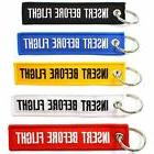insert before flight key chains multi color