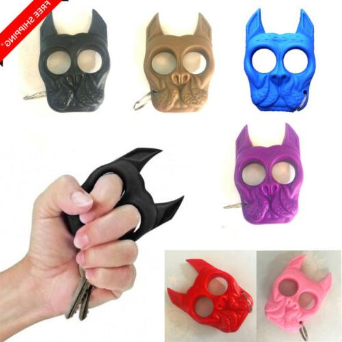 key chain plastic dog self defense tools