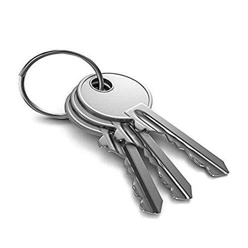 Key Rings Bulk , Nickel Chain Keychain, Key Rings,Round Chains, Ring, Equipment and Ring, Arts & Crafts 105