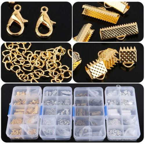 Jewelry Making Starter Kit Set Earring Bracelet Necklace Fin