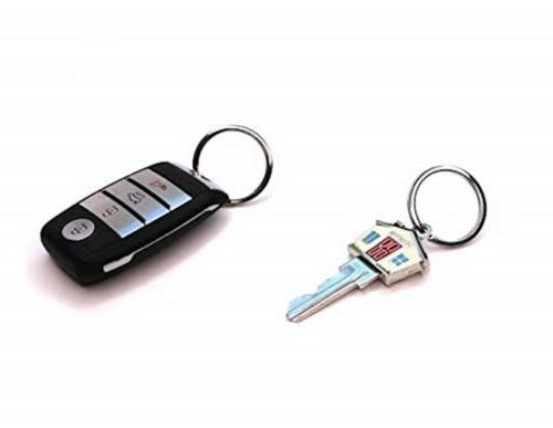 Mehr Enterprises 3048s Leather Valet Keychain - Detachable