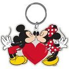 Disney Mickey Minnie Mouse Make Out Mice Lasercut Keychain K