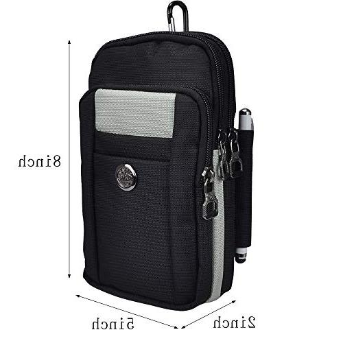 Multifunctional Outdoor Waist Bag for Plus 5Z/BlackBerry 12+/ P20 with