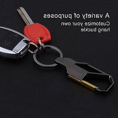 NEW Metal Keyfob Gift Keyring Ring